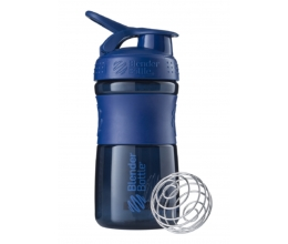 BLENDER BOTTLE Sportmixer 20oz - Navy - 600ml