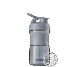 BLENDER BOTTLE Sportmixer 20oz - Pebble Gray - 600ml