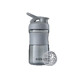 BLENDER BOTTLE Sportmixer 20oz - Pebble Gray - 600ml