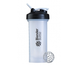 BLENDER BOTTLE PRO45, 45oz/1330ml Full Color CLEAR/BLACK