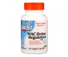 DR´S BEST NAC Detox Regulators - 60 vcaps