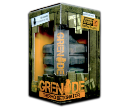 GRENADE nr 1 rasvapõletaja Eestis ja Euroopas - 100caps