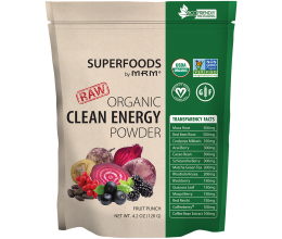 MRM Clean Energy 120g Fruit Punch - Best Before 09/2019