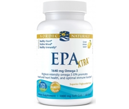 NORDIC NATURALS EPA Xtra, 1640mg 60 softgels Lemon (530EPA)