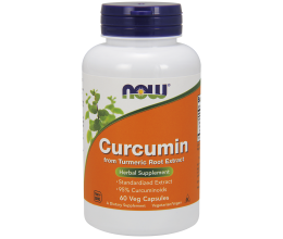 NOW FOODS Curcumin - 60 vcaps
