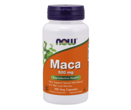 NOW FOODS Maca 500mg - 100 vcaps