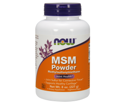 NOW FOODS MSM Powder - 227 grams