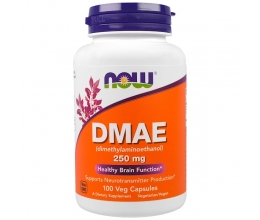 NOW FOODS DMAE 250mg - 100 vcaps