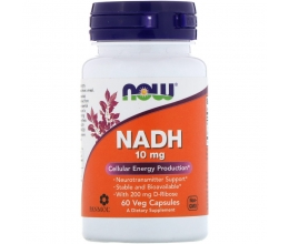 NOW FOODS NADH 10mg - 60 vcaps