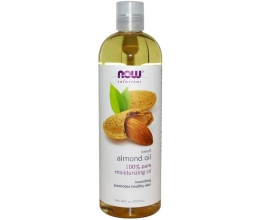 NOW FOODS Almond Oil - 473 ml.