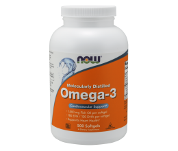 NOW FOODS Omega 3 - 500 softgels