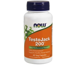 NOW FOODS TestoJack 200 - 60 vcaps