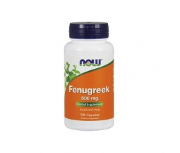 NOW FOODS Fenugreek 500mg 100caps