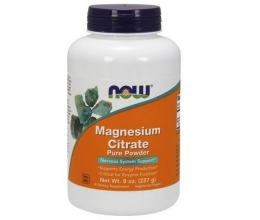 NOW FOODS Magnesium Citrate 100% Pure Powder 227g