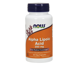 NOW FOODS Alpha Lipoic Acid - ALA 250mg x 60VCaps