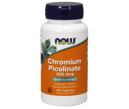NOW FOODS Chromium Picolinate 200mcg - 100 caps