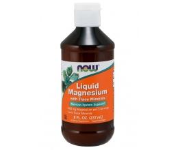 NOW FOODS Liquid Magnesium - 237 ml