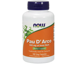 NOW FOODS Pau D´Arco 500mg - 100 vcaps