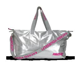 PROZIS GLAM Duffel Bag - Silver