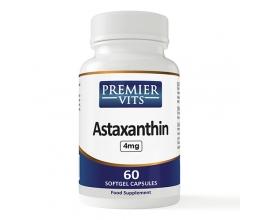 PREMIERVITS Astaxanthin 4mg x 60 Softgel Capsule