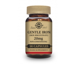 SOLGAR Gentle Iron 20 mg - 90veg caps (raud)