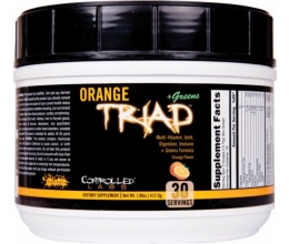 CONTROLLED LABS Orange Triad + Greens 408 grams Lemon Ice Tea