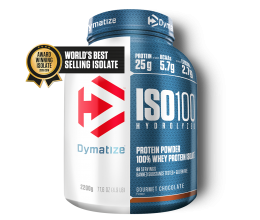 DYMATIZE ISO-100 2200g (World's best selling isolate)
