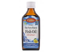 CARLSON LABS (Norwegian) The Very Finest Fish Oil 200ml