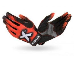 MADMAX Crossfit Gloves Black/Grey/Red (MXG-101)