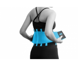 MADMAX Slimming Belt - Black/Turquoise (MFA-277)