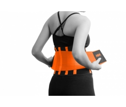 MADMAX Slimming Belt - Black/Neon Orange (MFA-277)