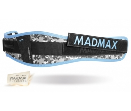 MADMAX WMN Synthetic Belt - Camo / Light Turquise (MFB-314)
