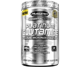 MUSCLETECH Platinum 100% Glutamine 300g - Best Before 15.05.19