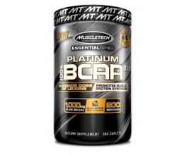 MUSCLETECH Platinum 100% BCAA 8:1:1 - 200caps