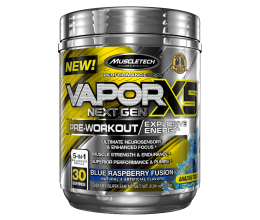 MUSCLETECH naNO Vapor X5 Next Gen 30 servings Fruit Punch