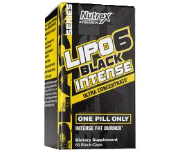 NUTREX Lipo-6 Black Intense Ultra Concentrate 60caps
