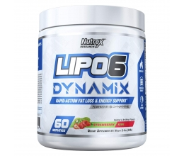 NUTREX Lipo-6 Dynamix 60servings Strawberry Kiwi