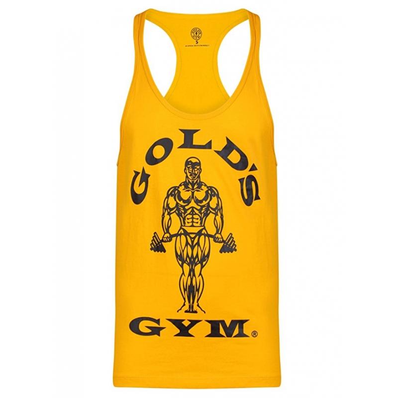 Gold/'s Gym T-Shirt GGVST003 Muscle Joe Premium String Vest Red