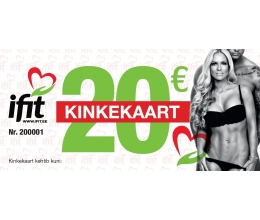 iFit Gift Card 20eur