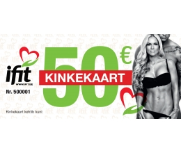 iFit Gift Card 50eur