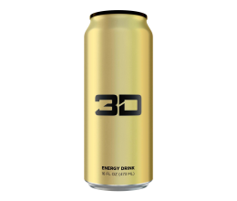 3D Energy Drink 473ml (Christian Guzman)