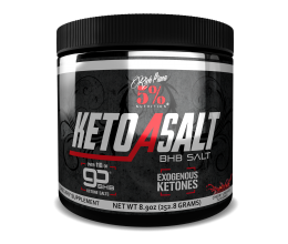 5% NUTRITION Keto aSALT with goBHB Salts 252g Cherry Limeade
