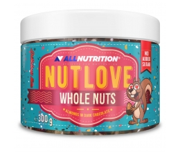 ALLNUTRITION NUTLOVE Whole Nuts 300g Almonds in Dark Chocolate