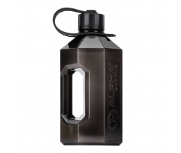 ALPHA DESIGNS XXL Jug 2400ml - Smoke Black (black strap)