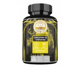 APOLLO´S HEGEMONY Curcumin 95 + Piperine 120 caps. (Kurkumiin)