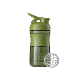 BLENDER BOTTLE Sportmixer 20oz - Moss Green - 600ml
