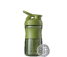 BLENDER BOTTLE Sportmixer 20oz - Moss Green - 600ml