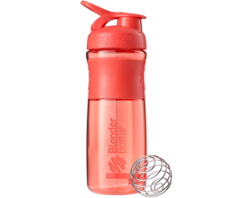 BLENDER BOTTLE Sportmixer 28oz / 828ml - CORAL
