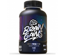 BRAIN GAINS Nootropic Sleep Aid BLACK EDITION 120 Caps