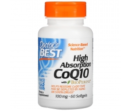 DR´S BEST High Absorption CoQ10 100mg - 60softgels